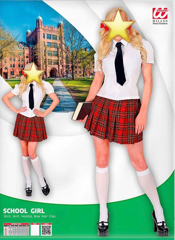 Kostüm Schulmädchen4