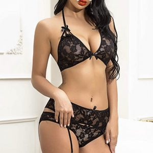 Woman Suspender Set Lingerie