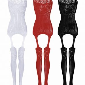 Women's Lace Stockings 3-Set