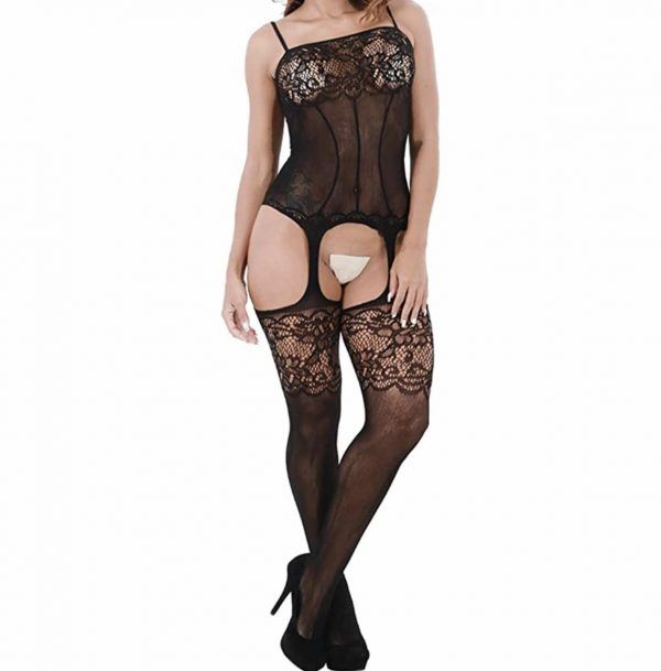 Women's Lace Stockings 3-Set